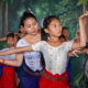 Cambodia's Annual School Holiday Period Means Crowded Classes at Champey Academy of Arts