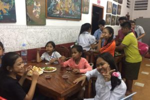 Champey Academy Lunch Party January 2020