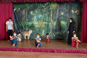 Once again, our Champey Academy of Arts must shut down in the face of spreading virus