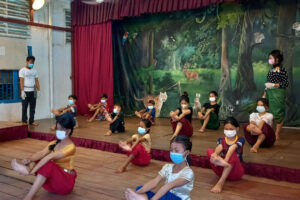 Despite the pandemic, scaled down instruction continues at Champey Academy – September 2021